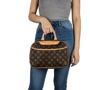 😍Louis Vuitton Monogram Trouville Bag😍
